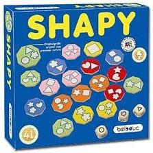 Beleduc  houten kinderspel Shapy