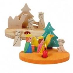 Beleduc  houten knutselspullen Kerstscene 3 koningen