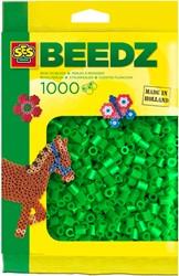 SES strijkkralen groen 1000 stuks