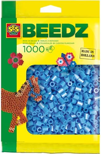 Ses  strijkkralen hemel blauw 1000 stuks