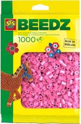 Ses  strijkkralen roze 1000 stuks