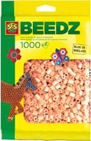 Ses  strijkkralen huidskleur roze 1000 stuks