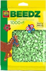 Ses  strijkkralen mint groen 1000 stuks