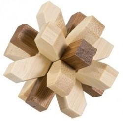 Planet Happy  houten puzzelspel IQ test 2 kleuren bamboe 6