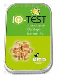 Fridolin houten puzzelspel IQ test 2 kleuren bamboe 1