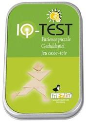 Fridolin houten puzzelspel IQ test 2 kleuren bamboe 2