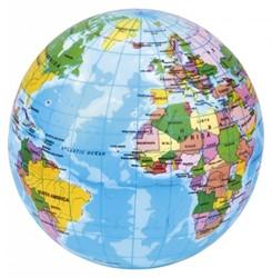 Bal wereldbol 10 cm