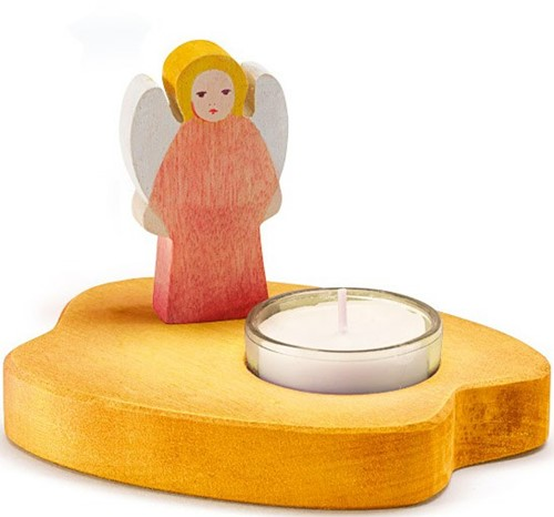 Ostheimer Candle Holder Angel red new