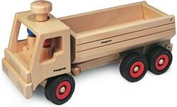 Fagus  houten speelvoertuig vrachtauto bestuuu 40cm