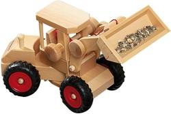 Fagus  houten speelvoertuig graafmachine 40cm