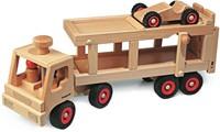 Fagus  houten voertuig Autotransport 40cm-1