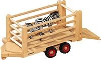 Fagus  houten speelvoertuig safari aanhanger-3