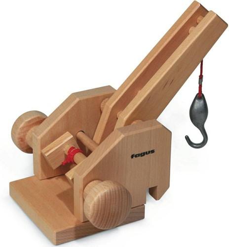 Fagus  houten speelvoertuig kraandeel-1