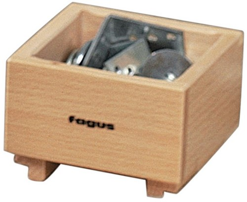 Fagus houten stapelcontainer