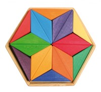 Grimm's houten puzzel kleuren ster -2