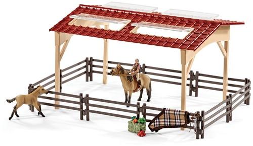 Schleich Boerderij - Paardenstal En Accessoires  42195-2