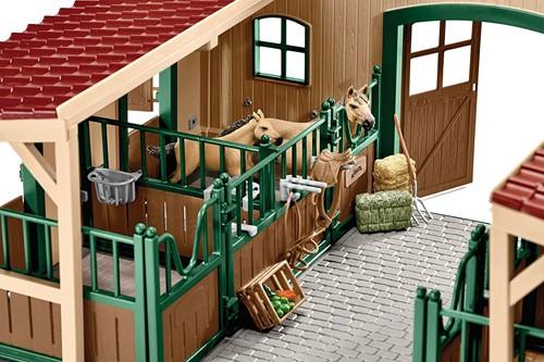 Schleich Boerderij - Paardenstal En Accessoires  42195-3