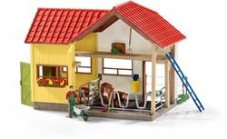 Schleich Farm Life - Boerderij Met Dieren En Accessoires 42334