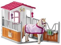 Schleich Paarden - Paardenbox Met Lusitano Merrie 42368