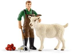 Schleich Farm Life - Boer Met Geit 42375