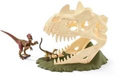 Schleich dinosaurussen Grote schedelvalstrik met Velociraptor 42348