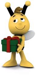 Schleich Maya de Bij - Willy Met Cadeau 27010
