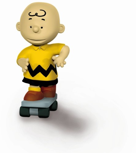 Schleich Peanuts - Charlie Brown Skateboarder 22076