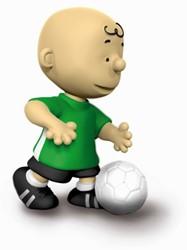 Schleich Peanuts - Charlie Brown Voetballer 22078