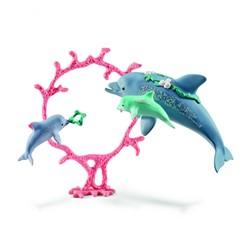 Schleich Bayala - Dolfijn Moeder Met Kleintjes 41463