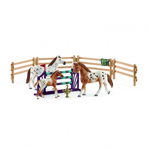 Schleich Paarden - Toernooi Trainingsset 42433