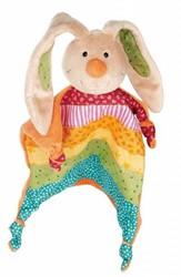 sigikid knuffeldoekje konijn Rainbow Rabbit 40576
