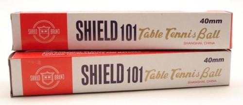 Shield 6 tafeltennis ballen