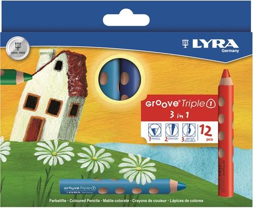Lyra GROOVE Triple 1 cardboard box K12