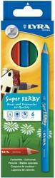 Lyra  teken en verfspullen Super Ferby K06 basic