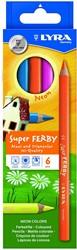 Lyra  teken en verfspullen Super Ferby K06 neon