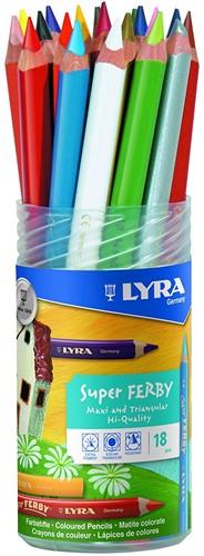 Lyra Pot of 18 Super-FERBY®