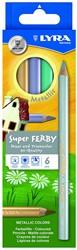 LYRA Box of 6 Super-FERBY®  METALLIC colours asst'd