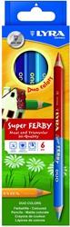 Lyra  teken en verfspullen Super Ferby DUO K06