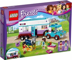 Lego  Friends set Paardendokter trailer 41125