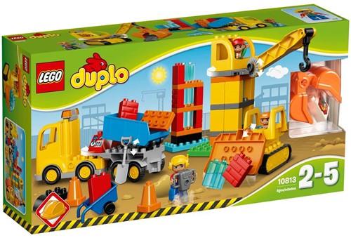LEGO DUPLO Grote bouwplaats 10813