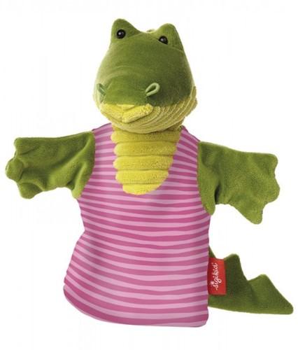 sigikid Handpop krokodil My little theatre 41330