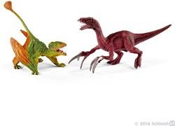 Schleich Dinosaurs - Klein Dimorphodon Et Thérizinosaure 41425
