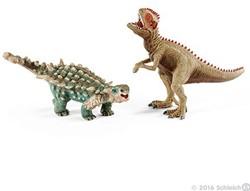 Schleich Dinosaurs - Klien Saichania Et Giganotosaure 41426