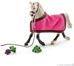 Schleich Paarden - Arabische Merrie Met Deken 41447