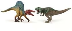 Schleich Dinosaurussen - Kleine Spinosaurus En Tyrannosaurus Rex 41455