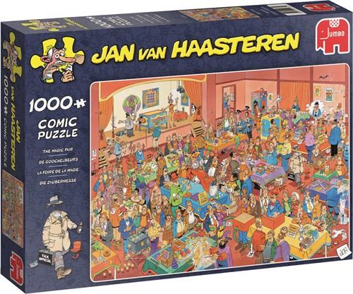 Jumbo puzzel Jan van Haasteren De Goochelbeurs - 1000 stukjes