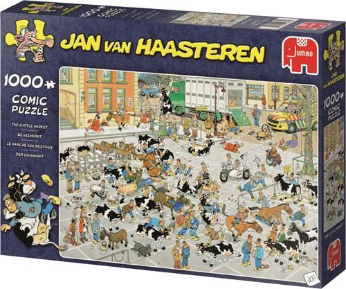 Jumbo puzzel Jan van Haasteren De Veemarkt - 1000 stukjes