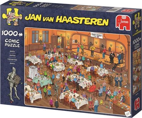 Jumbo puzzel Jan van Haasteren Darts - 1000 stukjes