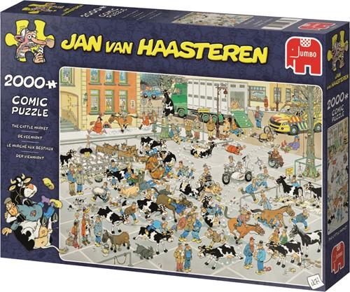 Jumbo puzzel Jan van Haasteren De Veemarkt - 2000 stukjes