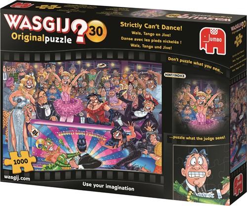 Jumbo puzzel Wasgij Original 30 INT - Wals, Tango en Jive! - 1000 stukjes
